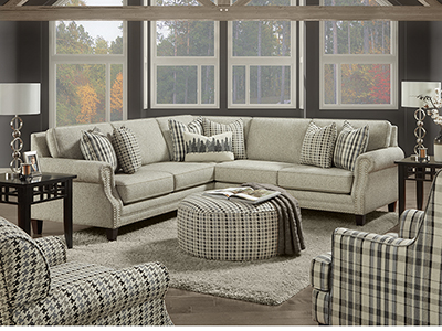 Pine Valley 3-pc. Sectional
