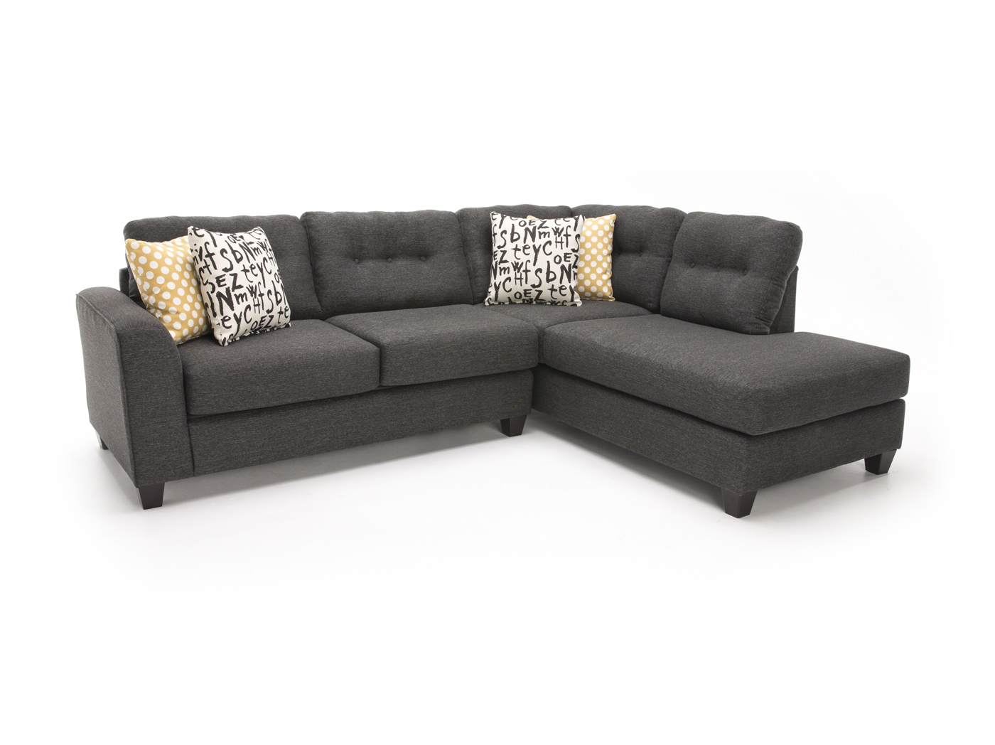 Max 2-pc. Sectional  sc 1 st  Steinhafels : max home sectional - Sectionals, Sofas & Couches