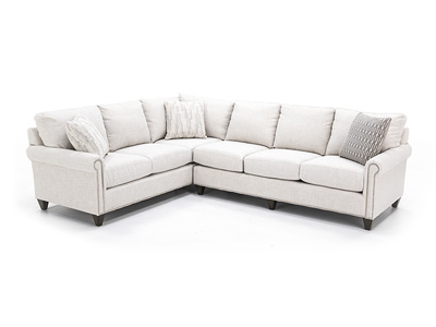 Custom 2-pc. Sectional