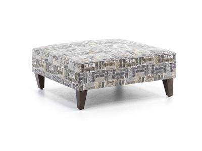 Squared Cocktail Ottoman
