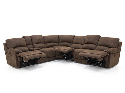Roselle 7-pc. Power Recline Sectional