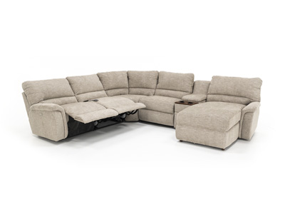 Aspen 6-pc. Power Recline Modular