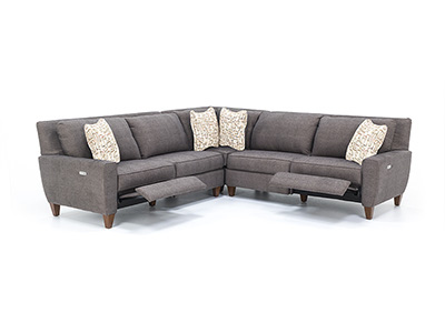 Edie 3-pc. Power Recline Sectional