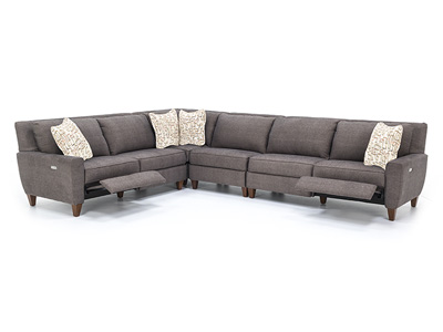 Edie 4-pc. Power Recline Sectional