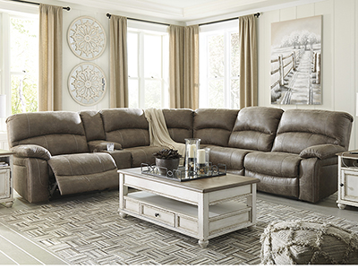 Wyoming 4-pc. Power Recline Sectional