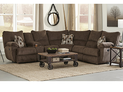 Fulton 2 Pc Power Recline Sectional