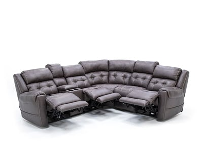 Dalton 3-Pc. Fully Loaded Reclining Sectional