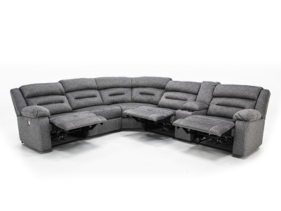 Burton 4-pc. Power Reclining Sectional