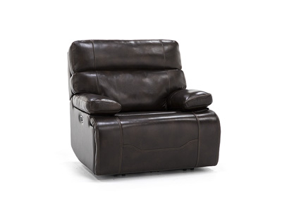 Direct Designs® Clayton Leather Fully Loaded Recliner
