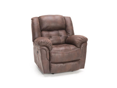Cheyenne Chocolate Power Rocker Recliner