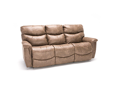 Steinhafels Greyson Leather Power Recline Sofa