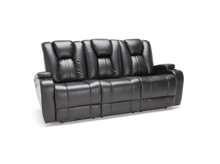 Direct Designs 174 Transformer Ii Black Power Recline Sofa