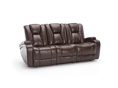 Direct Designs® Transformer II Brown Power Recline Sofa