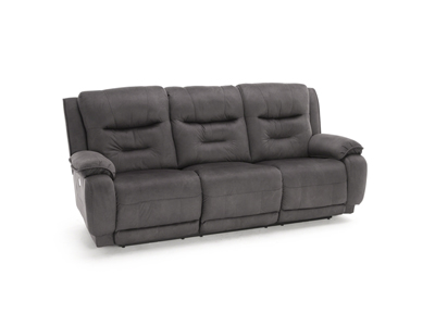 Crescent Power Headrest Reclining Sofa