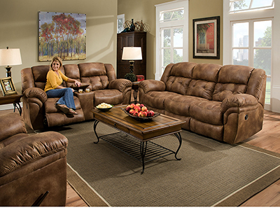 Cheyenne Almond Recline Sofa