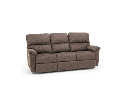 Seamount Power Recline with Power Headrest Sofa