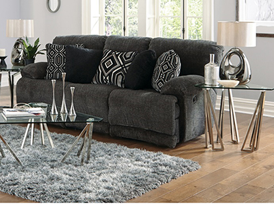 Ramsey Power Lay-Flat Recline Sofa