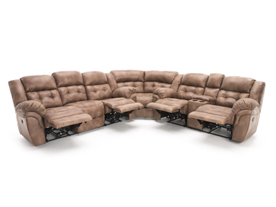Cheyenne 3-pc. Almond Power Recline Sectional