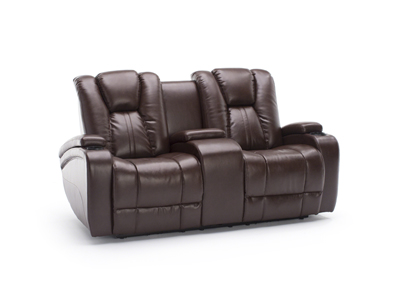Transformer II Brown Power Recline Loveseat