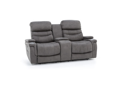 Direct Designs® Albuquerque Power Recline Console Loveseat