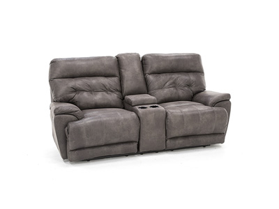 Connor Power Recline Console Loveseat