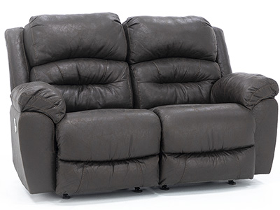 Alan Power Rocker Reclining Loveseat