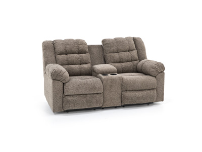 Scott Reclining Console Loveseat