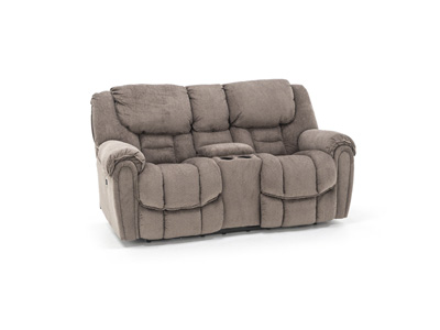 Cozy 1 Power Recline Console Loveseat
