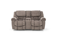 Cozy 1 Rocker Reclining Console Loveseat