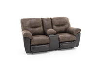 Diego Reclining Console Loveseat