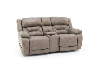 Laramie Power Console Loveseat