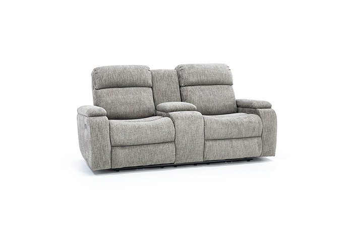 Infinity Fully Loaded Console Reclining Loveseat