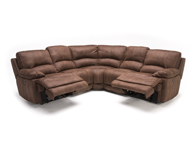 Roselle 5-pc. Power Recline Sectional