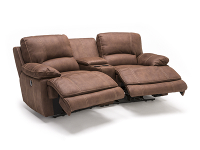 Roselle 3-pc. Power Recline Theater Loveseat
