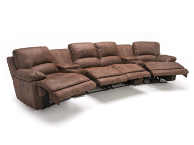Roselle 6-pc. Power Recline Theater Sectional