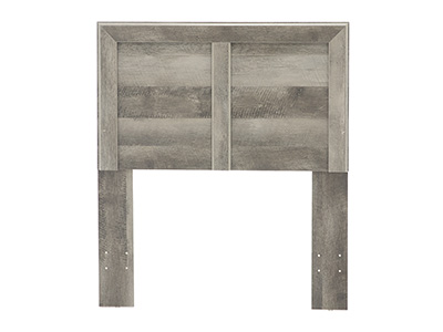 Essentials Gray Twin Headboard