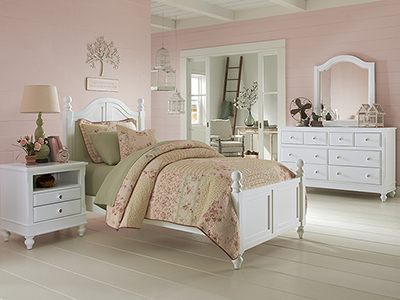 Lake House Twin Arched Bed