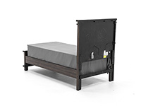 Sawyer Twin Panel Bed