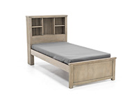 Highlands Twin Bookcase Bed