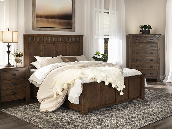Witmer Kennan Queen Panel Bed