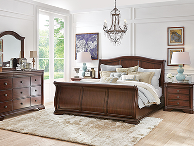 Direct Designs® Rochelle Queen Sleigh Bed