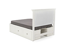 Direct Designs® Spencer White Full Storage Bed