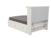Direct Designs® Full Bookcase Storage Bed