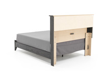 Reylow Queen Bookcase Bed