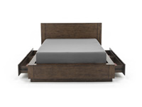 Cascade Queen Panel Storage Bed