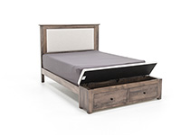 Concord Queen Storage Bed