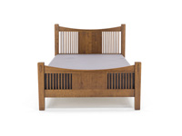 Heartland Full Slat Bed w/Slat Footboard