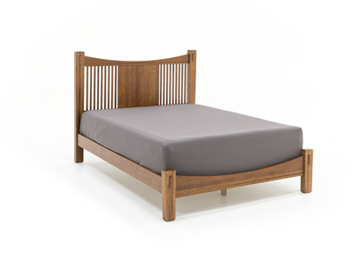Heartland Queen Slat Bed with Low Profile Footboard