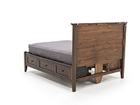 Simplicity Queen Storage Bed