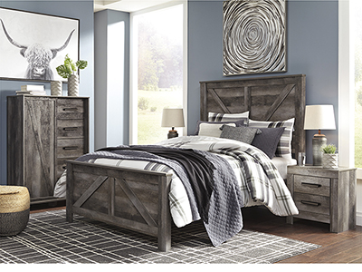 Wyatt Queen Panel Bed